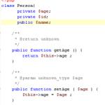 YouTube Video Tutorial Sicherheit Secure PHP Webdesign aus Duisburg OOP Objektorientierte PHP Programmierung Getter Setter