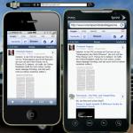 Responsive Webdesign Mobile Webseite mit Mobilizer