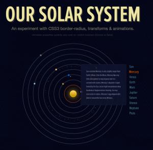 CSS3 Animation Webdesign