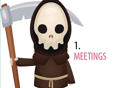 Meetings bis in den Tod
