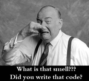 Clean code smells Heuristiken