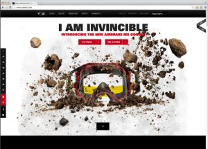 Responsive Webdesign Oakley Example
