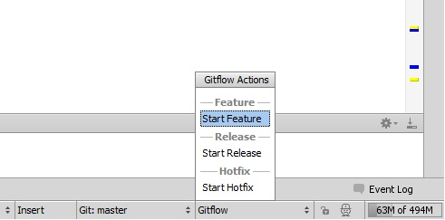 PhpStorm Git-Flow Integration