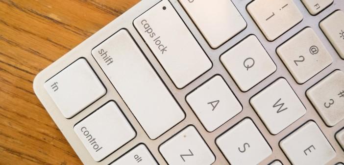 Mac OS X Caps Lock Feststellte Esc Delete