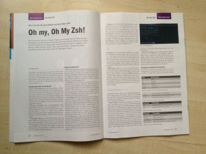 oh-my-zsh Roland Golla MAC PHP-Magazin