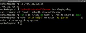 oh-my-zsh Syntax Highlighting Plugin